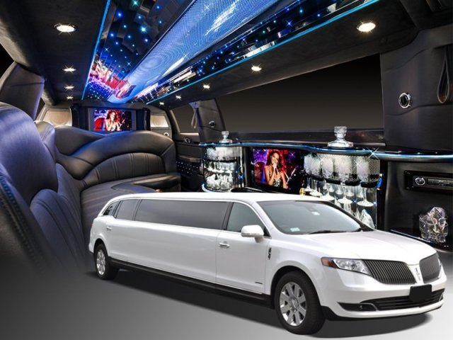 Inside of a Luxury Stretch Limo from A Celebrity Limousine