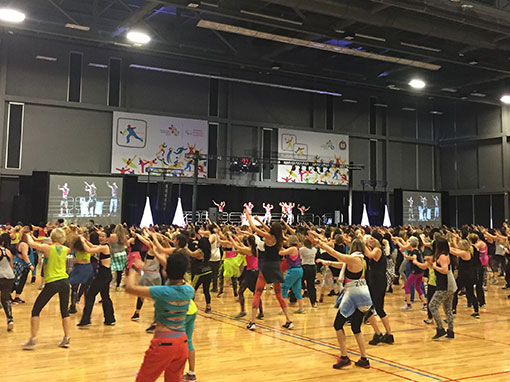 Corporate Event for Zumba