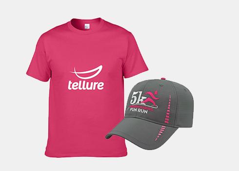 Custom T-Shirt and Hat