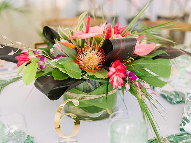 Colourful Floral Centerpiece