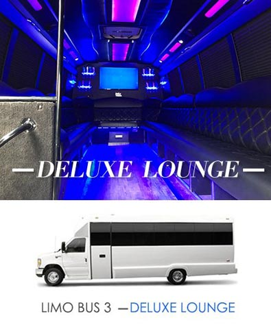 Limo Bus Deluxe Lounge
