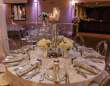 Table Setting at Le Dome
