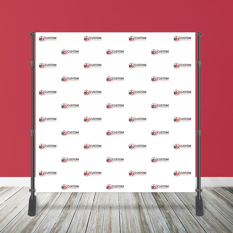 8' x 8' Logo Step & Repeat Media Wall