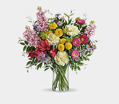 Multi-Colour Bouquet of Flowers
