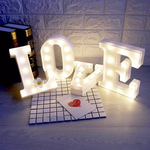 Light up Marquee Love Letters