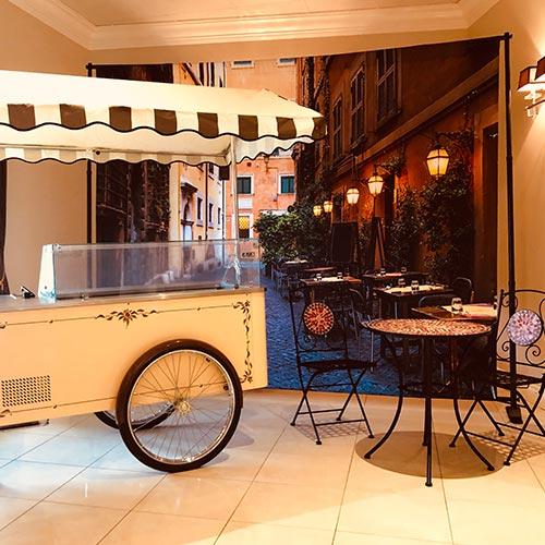 Rent a vintage gelato cart