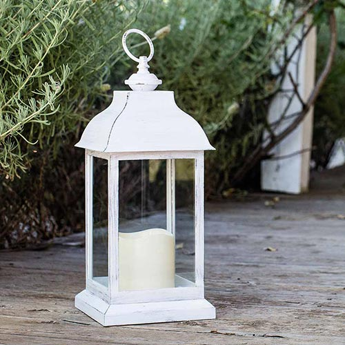 Rent set of 4 LED lanterns