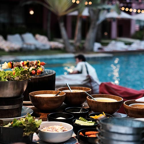 Pool Party Catering