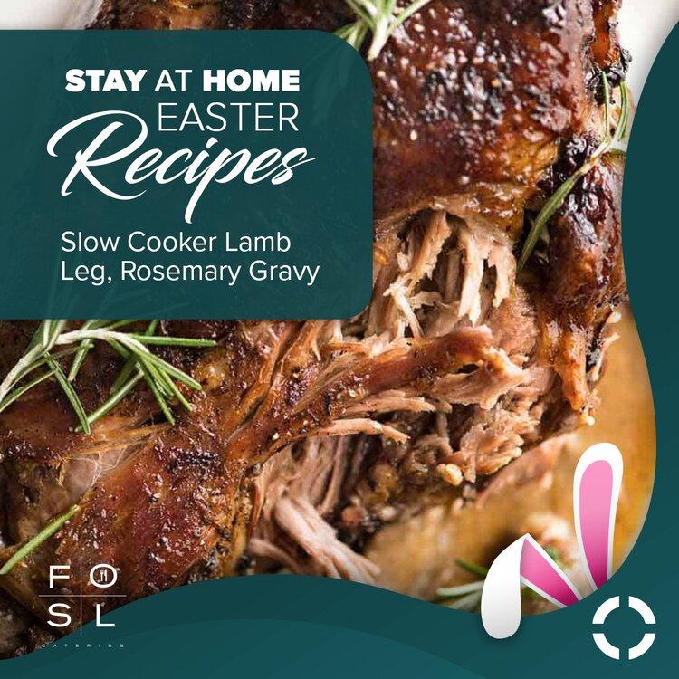 Slow Cooker Lamb Leg