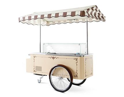 Vintage Gelato Cart